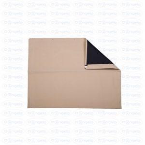 Fabric hood stx light beige with black interior for fiat 500 f-l-r