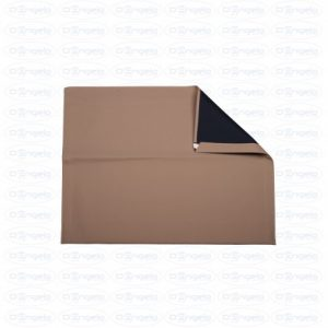 Fabric hood stx dark beige with black interior for fiat 500 f-l-r