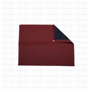 Fabric hood stx bordeaux with black interior for fiat 500 f-l-r