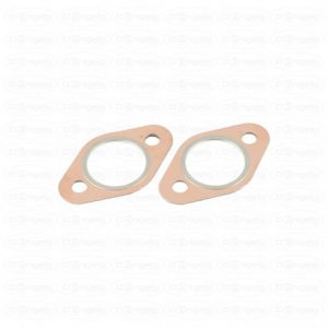 Pair of exhaust gaskets, 3 layers of copper between the exhaust and half collectors fiat 500 and 126 vintage