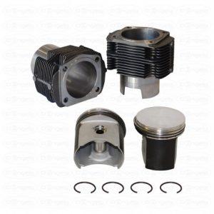 Set de cylindres en font et pistons moulées diameter 77 et taux de compression 39