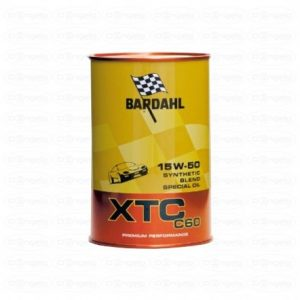 Engine oil bardahl 15w-50 xtc c60 100% synthetic 1l