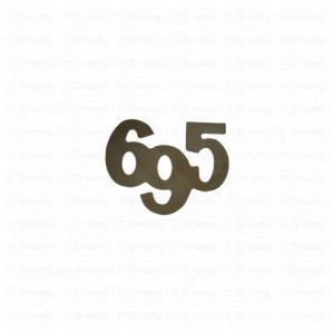 Inscription 695 for fiat 695 abarth