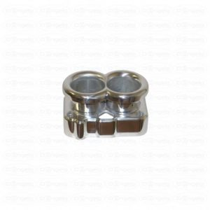 Trompetas de aspiración para carburador weber 40 dcnf en aluminio tipo alto