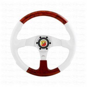 "Steering wheels white polyurethane model ""evo marine 2"""