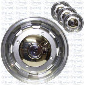 Serie cerchi in lega modello mm finitura superlook diamond 4,5x12 attacco 4x190 + coppetta