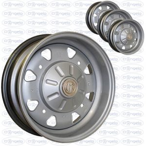 "Steel wheels model CMR reply ABARTH 595 12"""