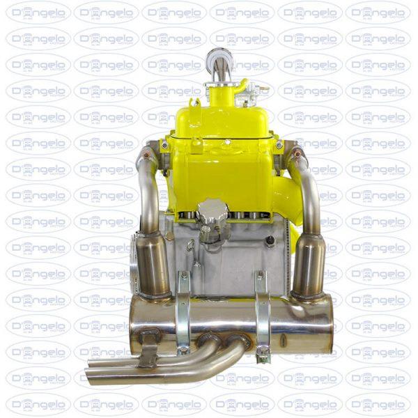 motore 650cc giallo