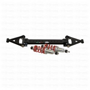 Complete front suspension kit, with street model pendulum for fiat 500 flr and 126