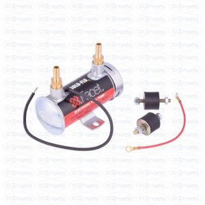 Electric fuel pump facet + assembly kit and vertical fittings