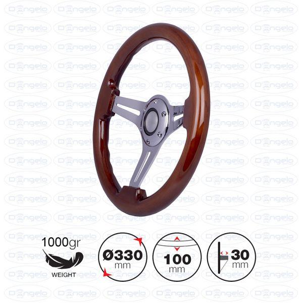 volante dijon legno
