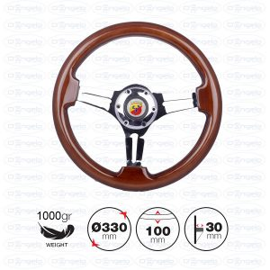 DIJON wooden steering wheel