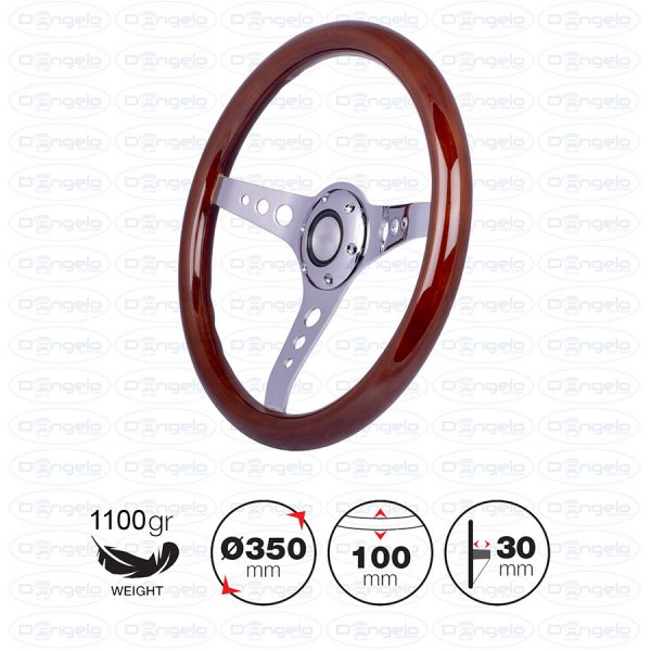 ARNOUX wooden steering wheel