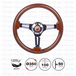 DIDIER wooden steering wheel