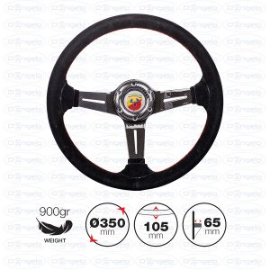 TOMMI black steering wheel