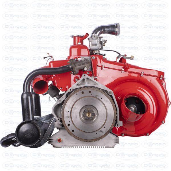 motore 650cc fiat 500 d'epoca
