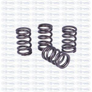 Kit header springs in steel reinforced for road engines