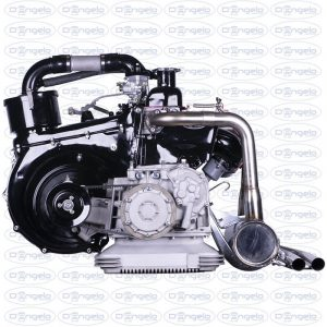 "Engine 650 cc 32 horse power for fiat 500 f-l-r and 126 classic ""classic"" model by d'angelo motori"