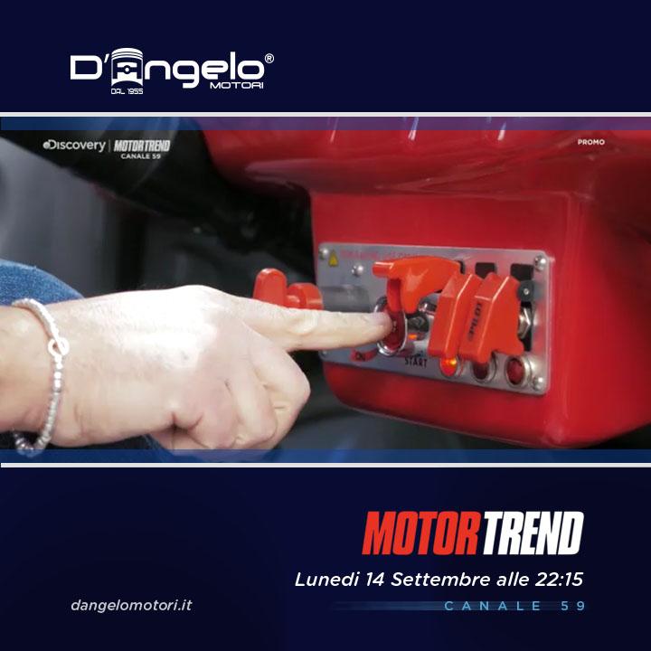 D'Angelo Motori in TV lunedì 14 settembre ore 22:15 su canale 59