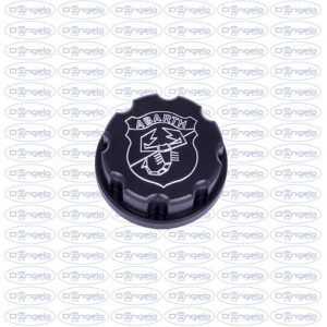 tappo nero logo abarth