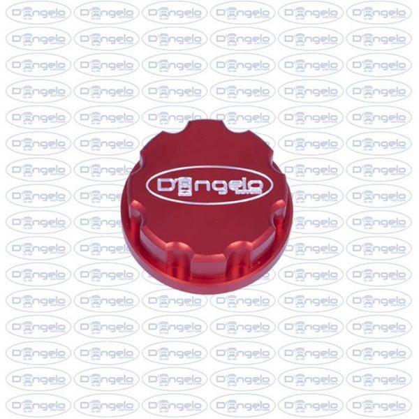 tappo rosso logo d'angelo motori