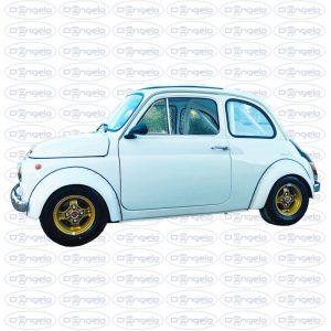 Préparation Fiat 500 par D'Angelo Motori couleur blanche Fiat