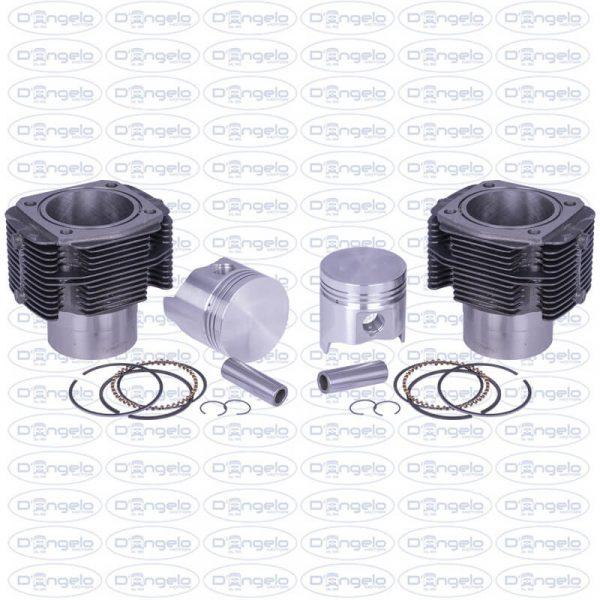 cilindri e pistoni d 77 qc 40 originali