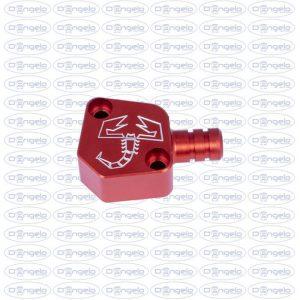 tappo pompetta benzina rosso abarth